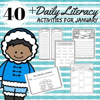 Daily 5 Literacy Block Activities January 2nd Grade Readin