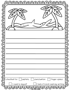 Reading, Writing, Word Work Station Activities for May/June