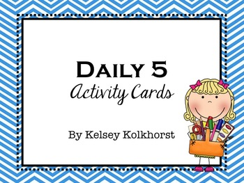 Daily 5 Activity Cards