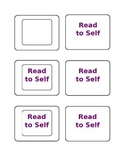 Daily 5 Activity Labels