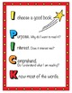 Super Hero Theme Daily 5 Anchor Chart & Poster Pack