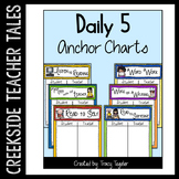 Daily 5 Anchor Chart Posters