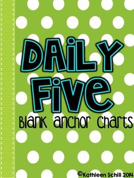 Daily 5 ~Anchor Charts~
