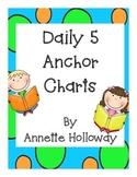 Daily 5 Anchor Charts