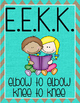 Daily 5 Anchor Charts Freebie - EEKK and I PICK