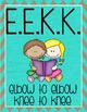 Daily 5 Anchor Charts Freebie - EEKK and I PICK