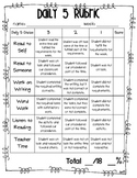 Daily 5 Assessment Rubric