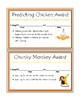 Daily 5 Beanie Baby Reading Strategy Awards
