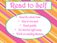 Daily 5 Behaviors Anchor Charts/Signs/Posters (Tangerine and Hot Pink Theme)