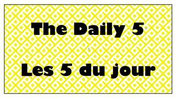 Daily 5 Bilingual Headings