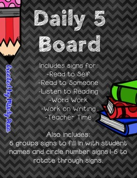 Daily 5 Board