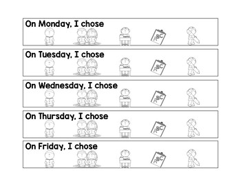 Daily 5 Board and Student Check-In Form