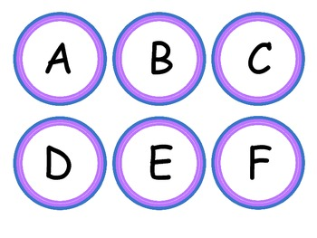 Daily 5 Boggle Letters and Banner