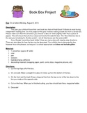 Daily 5 Book Box Project Instructions