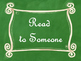 Daily 5 Bulletin Board Signs/Posters (Green Chalkboard/Cur