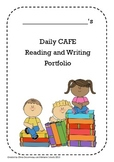 Daily 5 CAFE Assessment Portfolio
