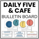 Daily 5 & CAFE Bulletin Board Set   Headers & Strategy Cards