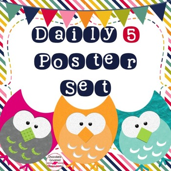 Daily 5 CAFE & CRAFT Posters