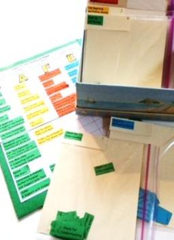 "Daily 5 CAFE ""Mini Menu"" for Students Semi-Interactive Folders"