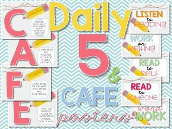 Daily 5 & CAFE Posters