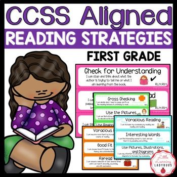 "Common Core Aligned Reading Strategies with ""I Can"" Statem"