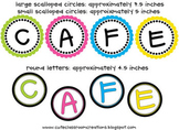 Daily 5 CAFE Letters Combo Pack {FREEBIE}