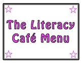 Daily 5 Café Menu Bulletin Board Set – 5 Headers and Strategy Strips - FREE!