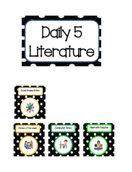 Daily 5 Cards