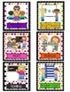 Center Posters and Chart Icons- 12 Centers, Bright Polka-D
