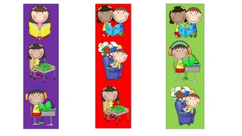 Daily 5 Centers Bookmarks