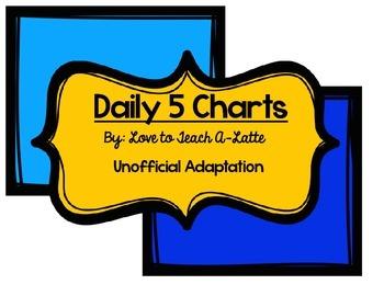 Daily 5 Charts