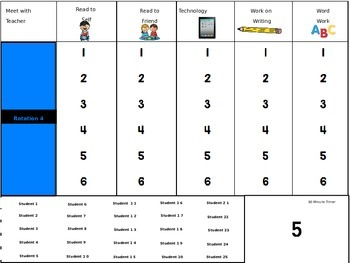 Daily-5 Check In Board PowerPoint (Editable)