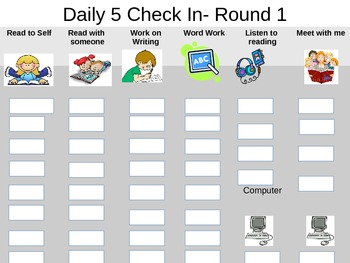 Daily 5 Check In- Powerpoint