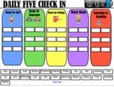 Daily 5 Check In SMART Board