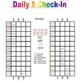 Daily 5 Check-In Smartboard