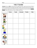 Daily 5 Checklist with a Twist