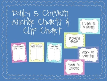 Daily 5 Chevron Anchor Charts