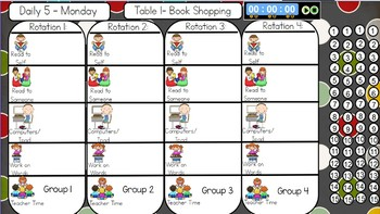 Daily 5 Choice Chart
