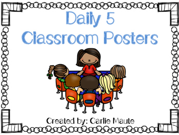 Daily 5 Classroom Posters