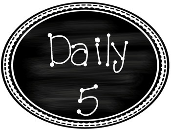 Daily 5 Clip chart Labels