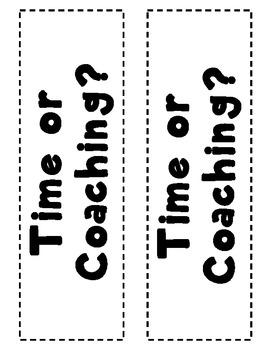 Daily 5 Coaching Bookmark