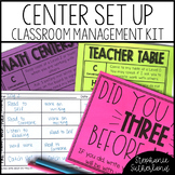 Reading and Math Center Organization Kit