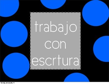 Daily 5 / Diario 5 posters