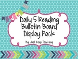 Daily 5 Display Pack- Bright Chevron- Bulletin Board, Colo