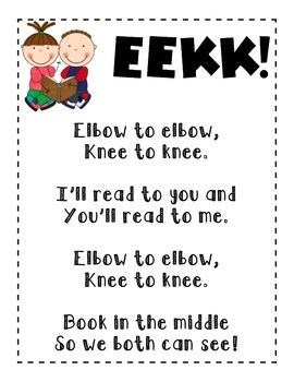 Daily 5 EEKK! Poster