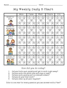 Daily 5 Effort Chart