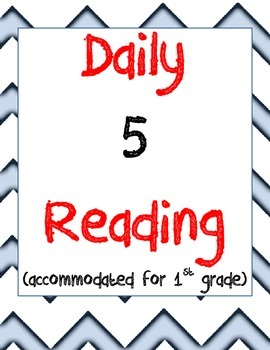 Daily 5 First Grade Reading