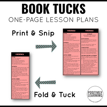 Book Companions One Page Bundle