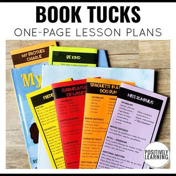 One Page Book Companions Bundle