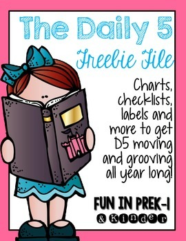 Daily 5 Freebie File
